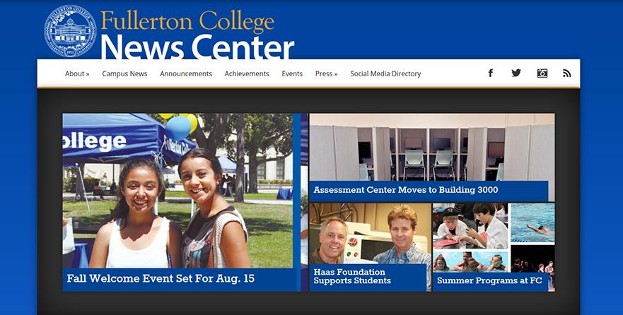 Fullerton College News Center
